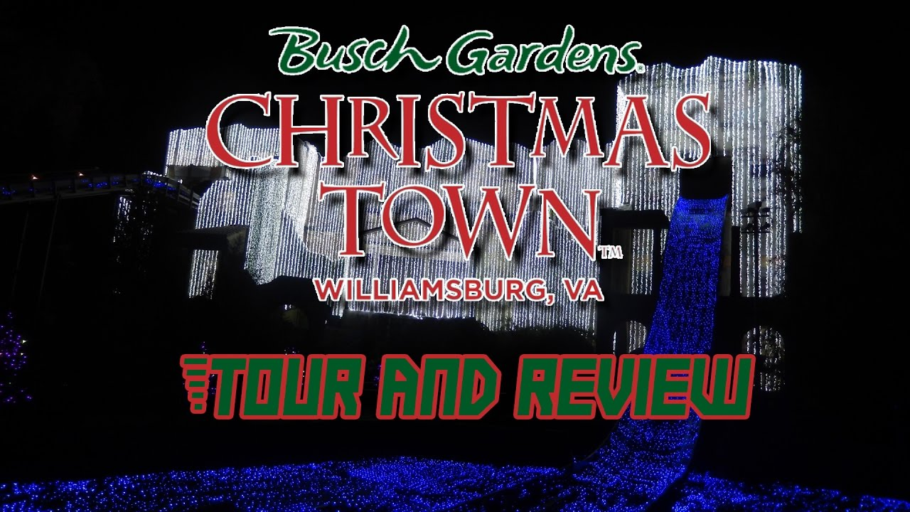 Christmas Town At Busch Gardens Williamsburg 2016   Media Event Tour And  Review