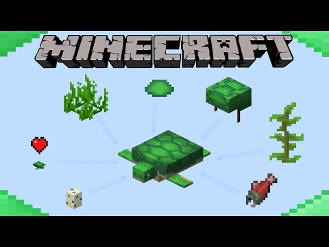 How To Breed Turtles In Minecraft