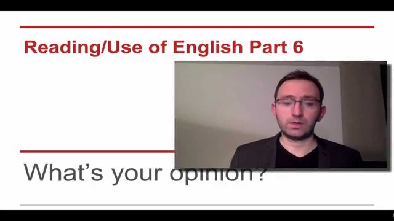CAE Reading and Use of English Test Tips - Guaranteed to