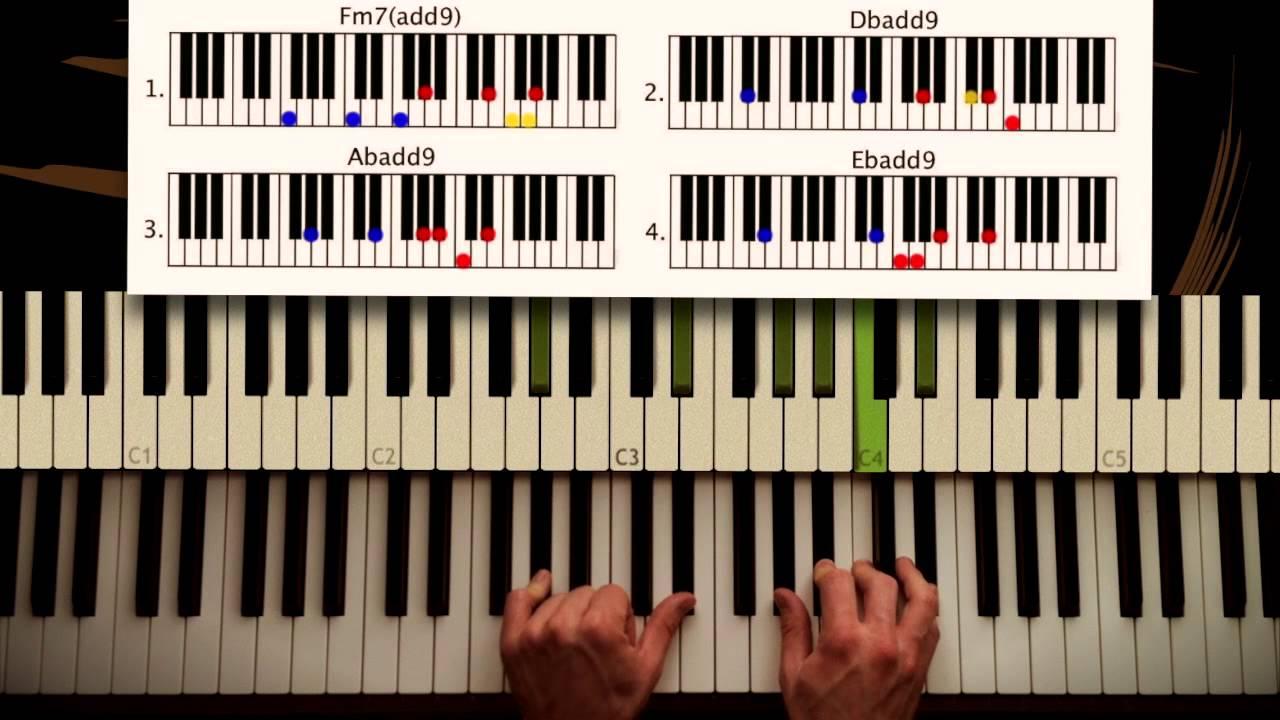 How to play: All of me - John Legend. PART 2: Chorus. Original Piano lesson. Tutorial - YouTube