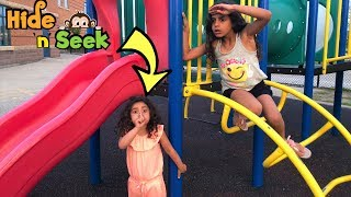 Kids Playing Hide and Seek with Mama! Family fun video