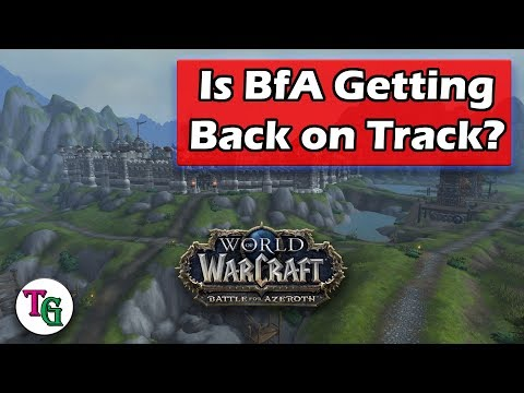 Is BfA Getting Back on Track?