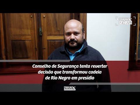 Governo do PR transforma cadeia de Rio Negro em presídio regional