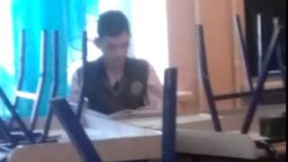 Ученик остался после урока