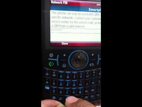 Motorola Q9h Unlock Failed :(