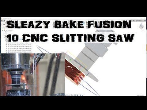 Speedy Fusion 360 Ep. 10 2d Contour Slitting Saw