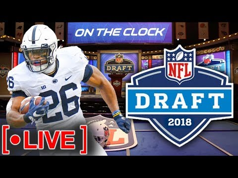 2018 NFL Draft Livestream | Live Reactions and Opinions