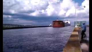 LONGEST SHIP ON THE GREAT LAKES! Paul R. Tregurtha