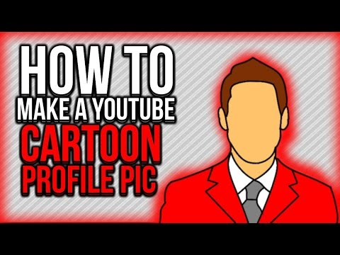 How TO - Make your own Cartoon Profile Picture - Youtube - GIMP