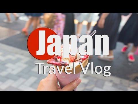 HARAJUKU AND MEIJI SHRINE   JAPAN TRAVEL VLOG 08