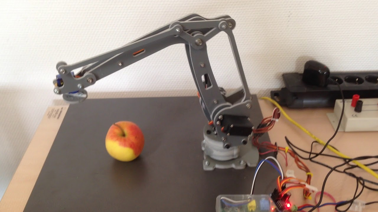 CODESYS SoftMotion Robotic on Raspberry PI