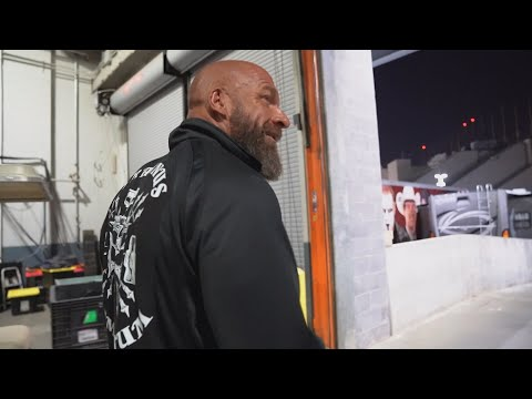 Triple H recalls his painful entrance mishap at WrestleMania 29: Triple H's Road to WrestleMania