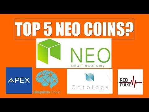 TOP 5 COINS ON NEO BLOCKCHAIN?