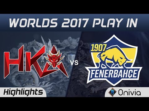 HKA vs FB Highlights World Championship 2017 Play In Hong Kong Attitude vs 1907 Fenerbahce by Onivia