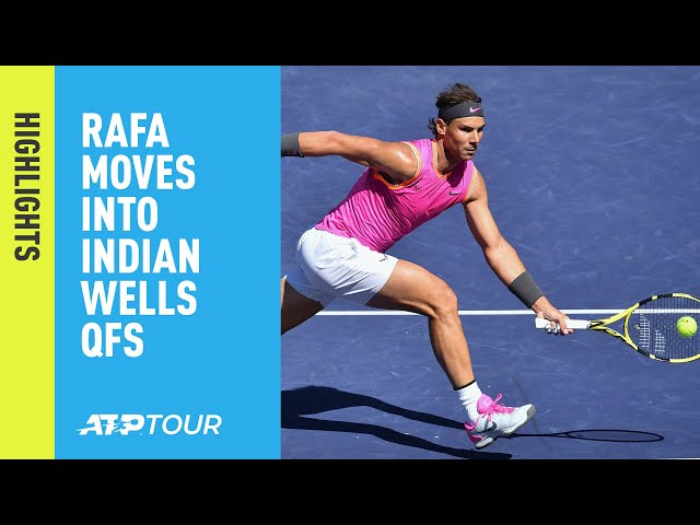 Highlights: Nadal, Federer Cruise Into Indian Wells 2019 Quarter-finals