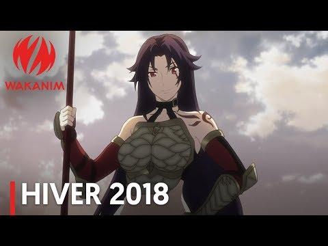 Wakanim - Trailer Saison Hiver 2018 [VOSTFR]