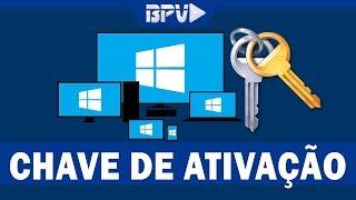 Como Descobrir a CHAVE DE ATIVAÇÃO do seu Windows - Sem Programas!