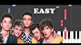 Why Don't We - 8 Letters (EASY Piano Tutorial)