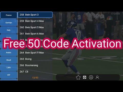 New application V5 live + 50 Code d'activation unlimited 2018