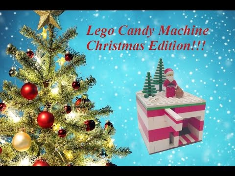 Lego Candy Machine (CHRISTMAS EDITION!) - YouTube
