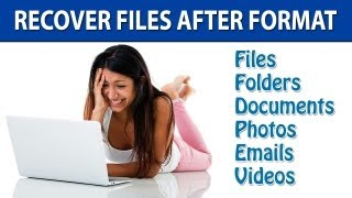 How To Recover Files After Formatting PC - Step by Step Tutorial