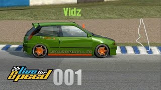 Live for Speed 001 - Hotlap on Blackwood GP mit XFG