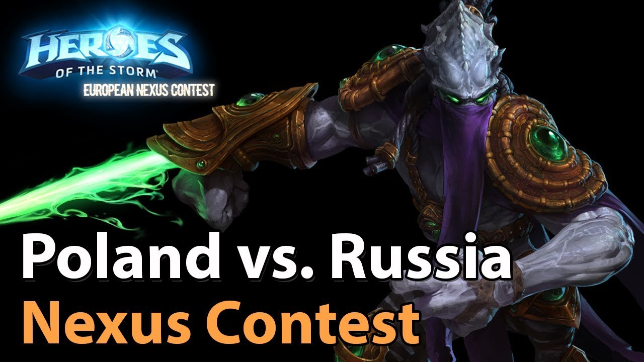► Heroes of the Storm Nations Cup: Russia vs. Poland - Groupstage