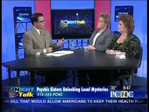 Psychic Vincent Sisters on WPXI Talking about Ghost Spirits, JonBenet    Ramsey