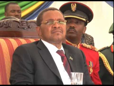President Kikwete commissions new junior army officers