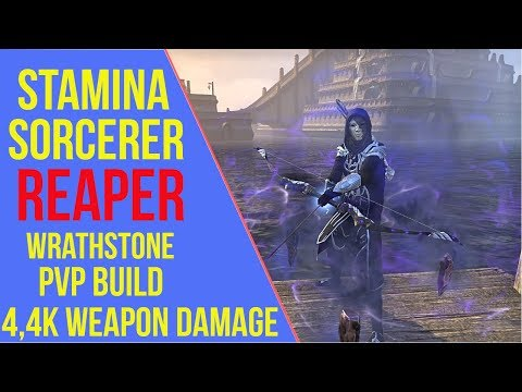 Stamina Sorcerer PVP Build - Reaper - ArzyeLBuilds