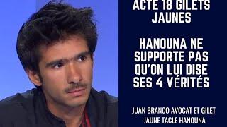 Acte 18 Gilets Jaunes Hanouna ne supporte pas qu'on lui dise ses 4 vérités