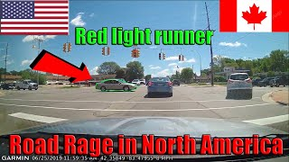Road Rage USA & Canada   Bad Drivers, Fails, Crashes Caught on Dashcam in North America 2019 #2