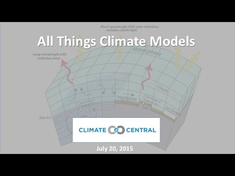 CM Webinar   All Things Climate Models