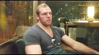 James Haskell on England v South Africa, Ireland and his injury