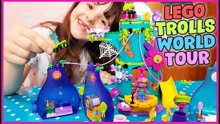 Esploriamo il villaggio LEGO di Poppy (Trolls World Tour)