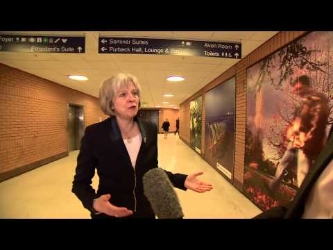 Theresa May's annual fight with the Police Federation