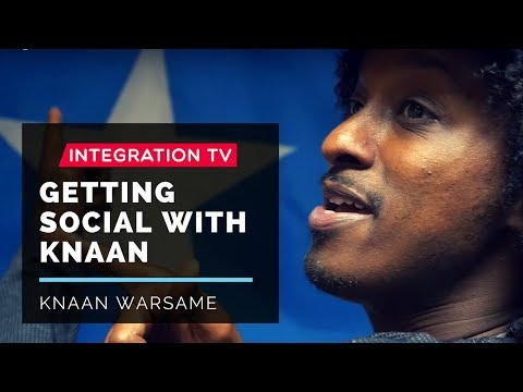 Hanging out with KNAAN at the HBO TV set
