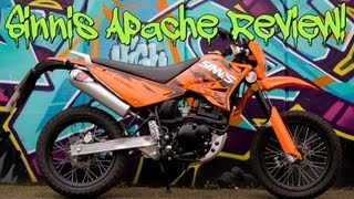 Sinnis Apache 125cc full review!