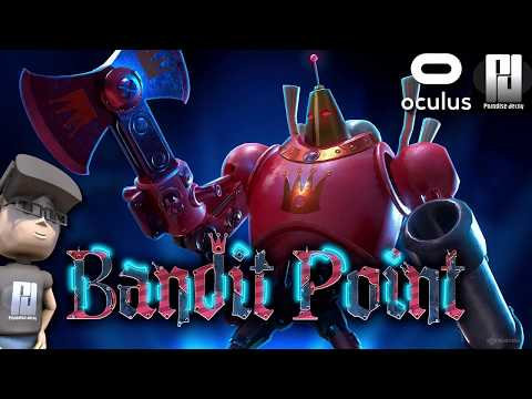 EXCLUSIVE 1st Look at Bandit Point VR // Oculus Rift S // GTX 1060 (6GB)