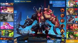 Heroes Arena | Spyre (Tyrant) | Ranked Game HD Replay screenshot 5