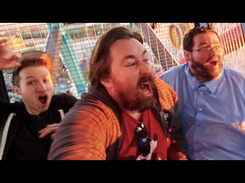 Boogie2988 and McJuggerNuggets FIRST Time on Disneyland Coasters & Drop Rides / Attraction Reactions