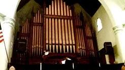Organ Playing at Greenwood Baptist Church in Brooklyn, NY - Christmas 2008