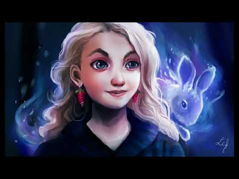 Image result for luna lovegood illustration