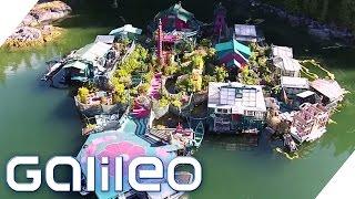 Schwimmendes Haus: Freedom Cove | Galileo | ProSieben