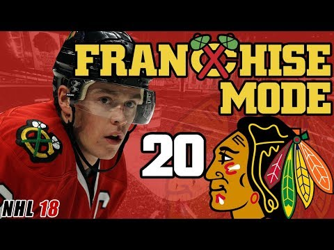NHL 18: Chicago Blackhawks Franchise Mode EP20 - Beastly Squad, New Season