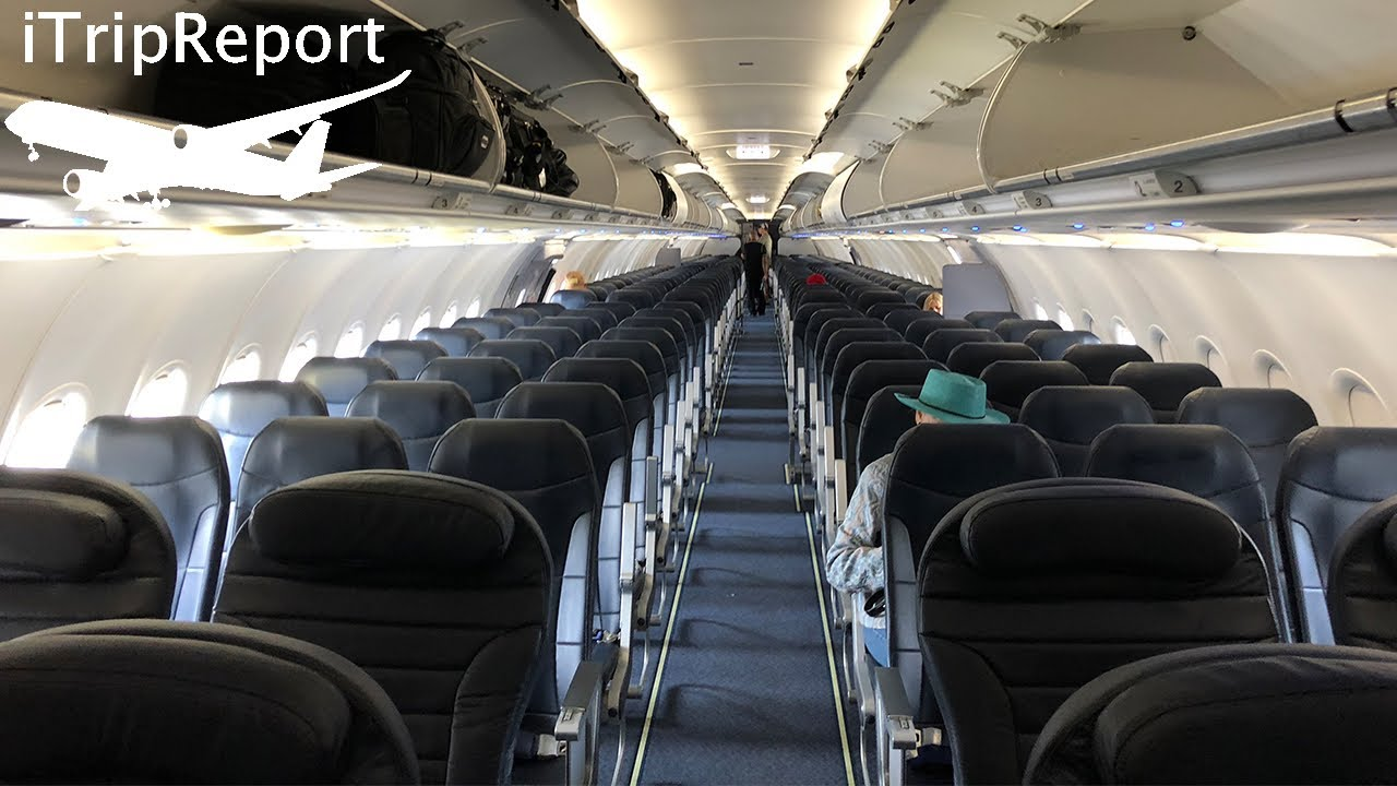 Spirit Airlines A321 Review