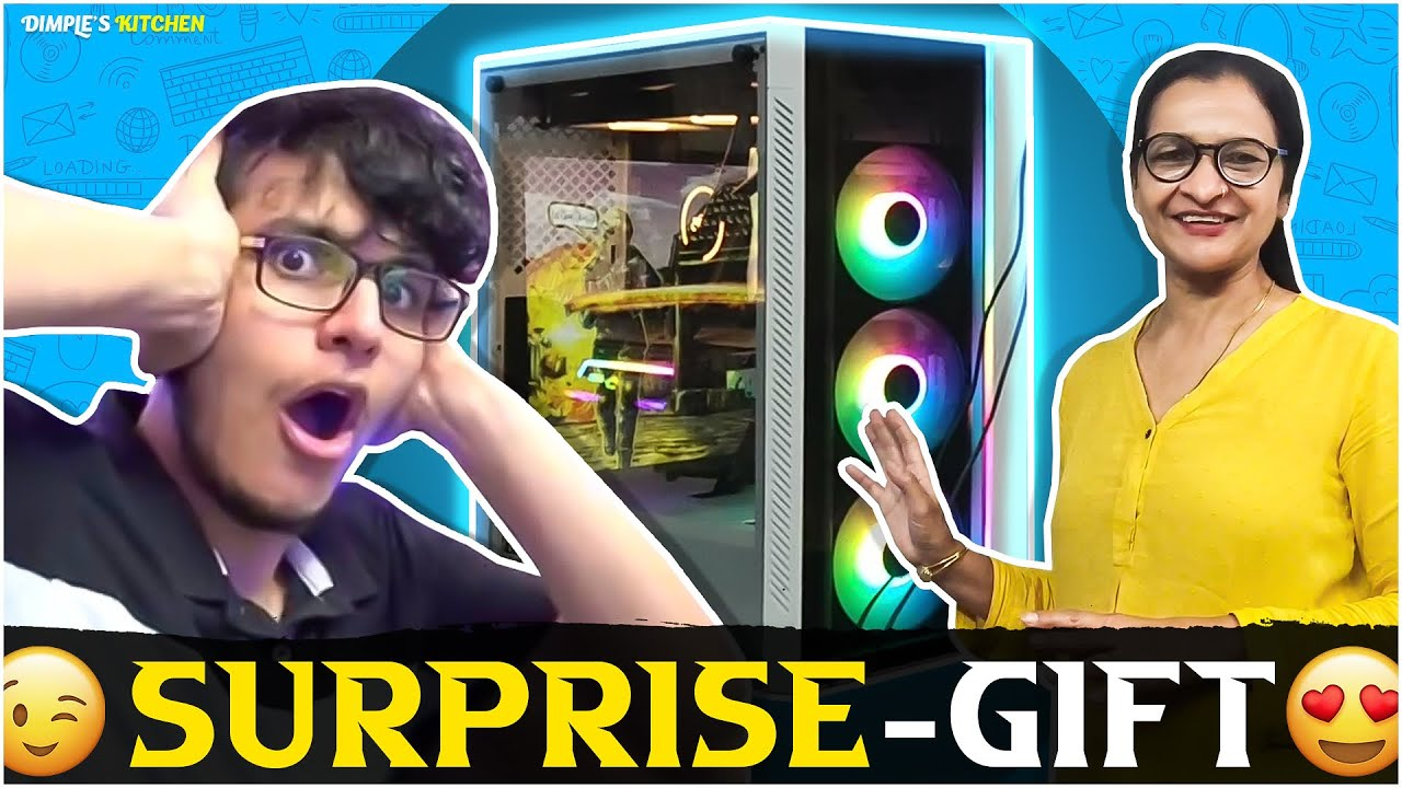 Surprising Nischay @Triggered Insaan with a new PC !!