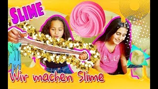 So macht ihr Slime 🌈 #Teamsabrin