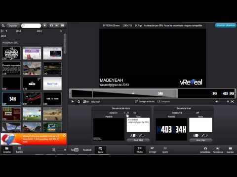 Los mejores editores de vídeo GRATUITOS #3 | VReveal