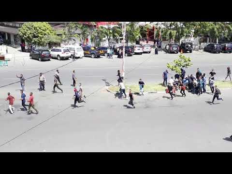 Full!! Simulasi Pengamanan Pemilihan Legislatif dan Capres tahun 2019 Polda Aceh
